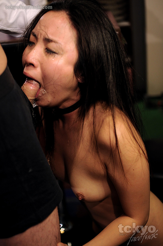 image Teen gets facefucked until she gags