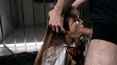 Akina feels this cock deep in her throat at tokyo face fuck