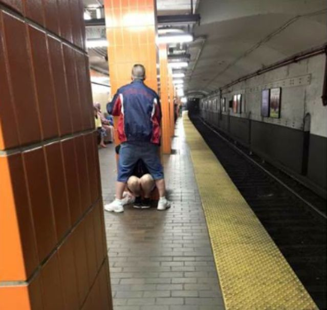 Malden man, Phil Urban gets blwojob on MBTA platform - Boston - BlowjobJapan.com